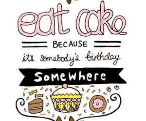 birthday, cake, and quotes image