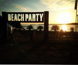 party, sea, and summer image