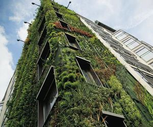 beautiful, building, and green image