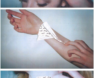 art, Collage, and poetry image