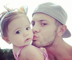 love, baby, and jack wilshere image