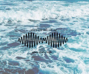 arctic monkeys, song, and sea image