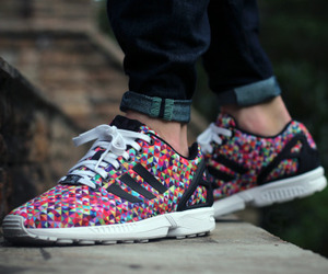 adidas, beautiful, and zx flux image