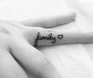 family and tattoo image