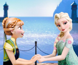 anna, elsa, and frozen 2 image