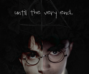 harry potter and until the very end image