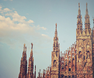 milan, italy, and dome image