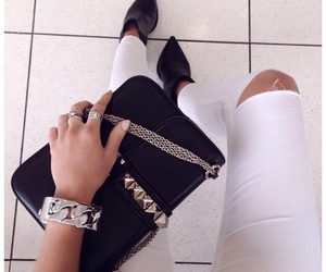 style, bag, and jewelry image