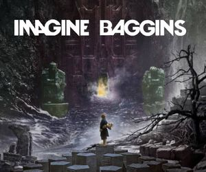 the hobbit, imagine dragons, and imagine baggins image