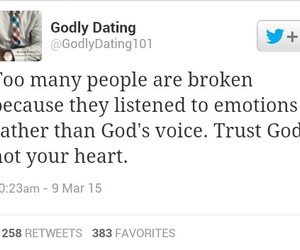 god, love, and godly dating image