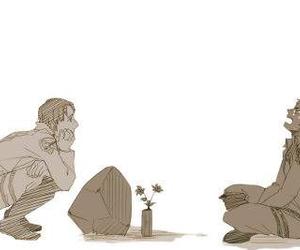 marco, jean, and shingeki no kyojin image