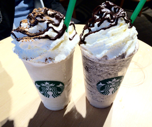 frappucchino, love, and chocolate image