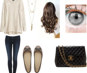 black, chanel, and eyes image