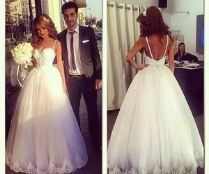 blush, bride, and brodery image
