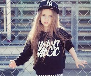 girl, swag, and kids image