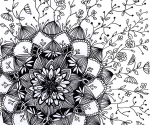 art, drawing, and pattern image