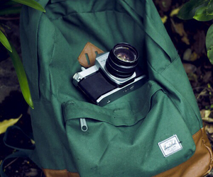 camera, photography, and bag image