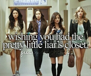 pretty little liars, pll, and closet image