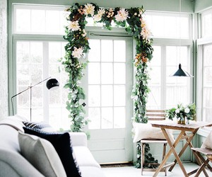 flowers, white, and home decor image