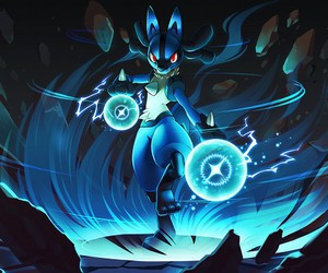 pokemon and lucario image