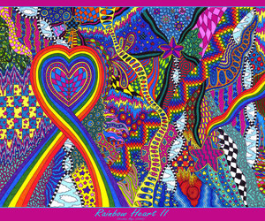 colorful, colors, and doodle image