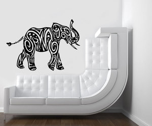 home decor, wall decals, and indian pattern image