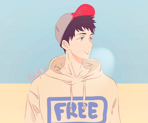anime, free, and anime boy image