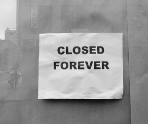 closed, forever, and grunge image