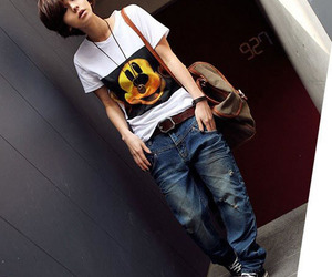 asian, converse, and jeans image