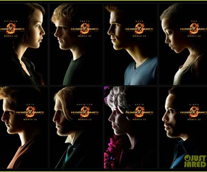 movie, katniss, and poster image