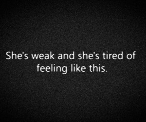quote, text, and tired image