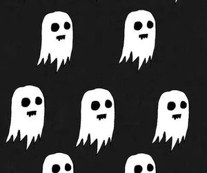 ghost, wallpaper, and black image