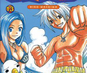 rave, rave master, and haru glory image
