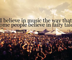 music, believe, and quotes image