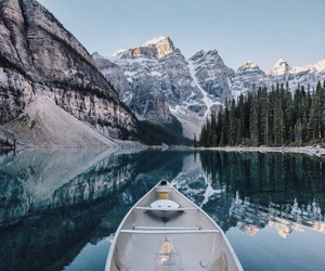 beautiful, boat, and winter image