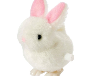 bunny, fuzzy, and toy image