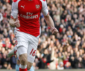 Arsenal, aaron ramsey, and afc image
