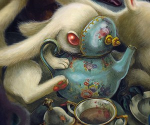 rabbit, Benjamin Lacombe, and alice image