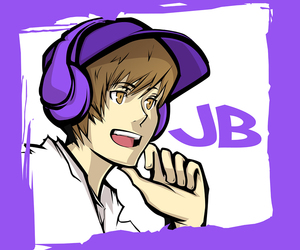 anime and justin bieber image