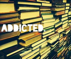 addicted, books, and read image
