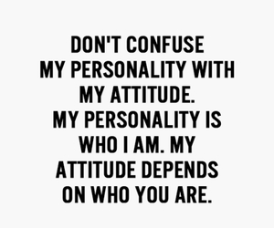 attitude, confuse, and personality image
