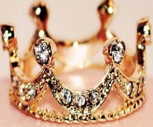 girly, crown, and princess image