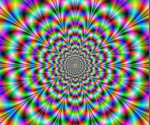 colors, crazy, and psychedelic image