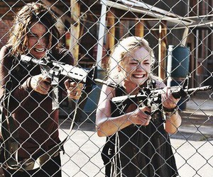 Maggie, beth, and the walking dead image