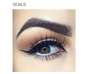 eyebrows, fashion, and goals image