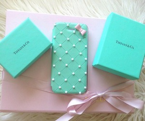 blue, tiffany, and bow image
