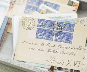 vintage, paris, and letters image