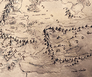 lord of the rings, LOTR, and middle earth image