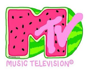 mtv, watermelon, and overlay image