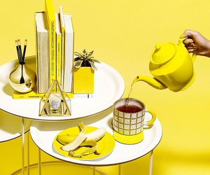 yellow, aesthetic, and banana image